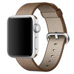 Ремешок для часов Synapse Woven Nylon для Apple Watch (38 мм, коричневый, нейлоновый)