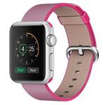 Ремешок для часов Synapse Woven Nylon для Apple Watch (38 мм, розовый, нейлоновый)