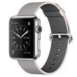 Ремешок для часов Synapse Woven Nylon для Apple Watch (38 мм, серый, нейлоновый)