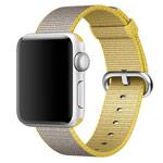 Ремешок для часов Synapse Woven Nylon для Apple Watch (38 мм, золотистый, нейлоновый)