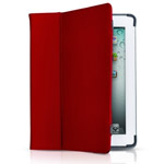 Чехол Odoyo Genuine Leather Folio Case для Apple iPad 2/new iPad (красный, кожанный)