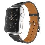 Ремешок для часов Kakapi Single Tour Band для Apple Watch (38 мм, черный, кожаный)
