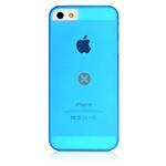 Чехол Dexim Mi & Fashion Case для Apple iPhone 5 (голубой, пластиковый)