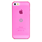 Чехол Dexim Mi & Fashion Case для Apple iPhone 5 (розовый, пластиковый)