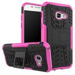 Чехол Yotrix Shockproof case для Samsung Galaxy A7 2017 (розовый, пластиковый)