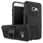 Чехол Yotrix Shockproof case для Samsung Galaxy A7 2017 (черный, пластиковый)