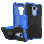 Чехол Yotrix Shockproof case для Asus Zenfone 3 Laser ZC551KL (синий, пластиковый)