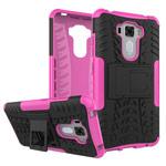 Чехол Yotrix Shockproof case для Asus Zenfone 3 Laser ZC551KL (розовый, пластиковый)
