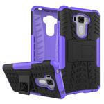 Чехол Yotrix Shockproof case для Asus Zenfone 3 Laser ZC551KL (фиолетовый, пластиковый)