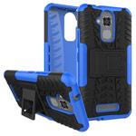Чехол Yotrix Shockproof case для Asus Zenfone 3 Max ZC520TL (синий, пластиковый)