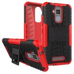 Чехол Yotrix Shockproof case для Asus Zenfone 3 Max ZC520TL (красный, пластиковый)