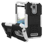 Чехол Yotrix Shockproof case для Asus Zenfone 3 Max ZC520TL (белый, пластиковый)
