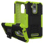 Чехол Yotrix Shockproof case для Asus Zenfone 3 Max ZC520TL (зеленый, пластиковый)