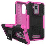 Чехол Yotrix Shockproof case для Asus Zenfone 3 Max ZC520TL (розовый, пластиковый)
