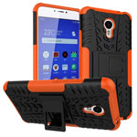 Чехол Yotrix Shockproof case для Meizu M3 Note (оранжевый, пластиковый)