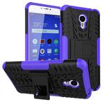 Чехол Yotrix Shockproof case для Meizu M3 Note (фиолетовый, пластиковый)