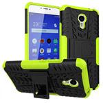 Чехол Yotrix Shockproof case для Meizu M3 Note (зеленый, пластиковый)