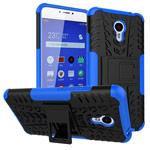 Чехол Yotrix Shockproof case для Meizu M3 Note (синий, пластиковый)