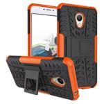 Чехол Yotrix Shockproof case для Meizu M3 (оранжевый, пластиковый)