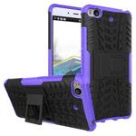 Чехол Yotrix Shockproof case для Xiaomi Mi 5s (фиолетовый, пластиковый)