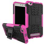 Чехол Yotrix Shockproof case для Xiaomi Redmi 4A (розовый, пластиковый)