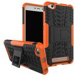 Чехол Yotrix Shockproof case для Xiaomi Redmi 4A (оранжевый, пластиковый)