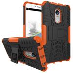 Чехол Yotrix Shockproof case для Xiaomi Redmi Note 4 (оранжевый, пластиковый)