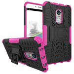 Чехол Yotrix Shockproof case для Xiaomi Redmi Note 4 (розовый, пластиковый)
