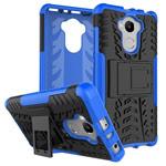 Чехол Yotrix Shockproof case для Xiaomi Redmi 4 prime (синий, пластиковый)