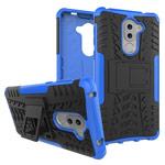Чехол Yotrix Shockproof case для Huawei Honor 6X (синий, пластиковый)
