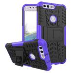 Чехол Yotrix Shockproof case для Huawei Honor 8 (фиолетовый, пластиковый)