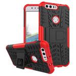 Чехол Yotrix Shockproof case для Huawei Honor 8 (красный, пластиковый)