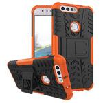 Чехол Yotrix Shockproof case для Huawei Honor 8 (оранжевый, пластиковый)