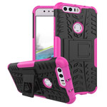 Чехол Yotrix Shockproof case для Huawei Honor 8 (розовый, пластиковый)