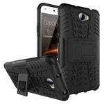 Чехол Yotrix Shockproof case для Huawei Y5 II (черный, пластиковый)