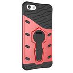Чехол Yotrix StandCase для Apple iPhone SE (красный, пластиковый)