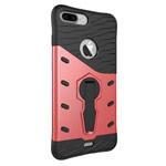 Чехол Yotrix StandCase для Apple iPhone 7 plus (красный, пластиковый)