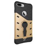 Чехол Yotrix StandCase для Apple iPhone 7 plus (золотистый, пластиковый)