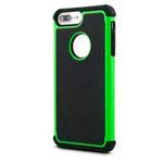 Чехол Yotrix Antishock case для Apple iPhone 7 plus (зеленый, пластиковый)