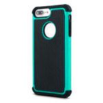 Чехол Yotrix Antishock case для Apple iPhone 7 plus (бирюзовый, пластиковый)