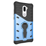 Чехол Yotrix StandCase для Xiaomi Mi 5s plus (синий, пластиковый)