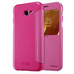 Чехол Nillkin Sparkle Leather Case для Samsung Galaxy A7 2017 (розовый, винилискожа)