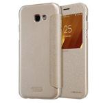 Чехол Nillkin Sparkle Leather Case для Samsung Galaxy A3 2017 (золотистый, винилискожа)