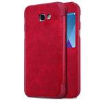 Чехол Nillkin Qin leather case для Samsung Galaxy A7 2017 (красный, кожаный)