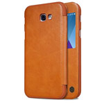 Чехол Nillkin Qin leather case для Samsung Galaxy A7 2017 (коричневый, кожаный)