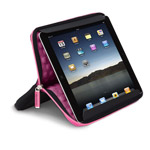 Чехол-сумка X-doria Sleeve Stand для Apple iPad 2/New iPad (розовый)