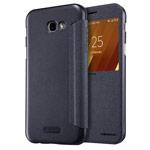 Чехол Nillkin Sparkle Leather Case для Samsung Galaxy A7 2017 (темно-серый, винилискожа)