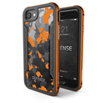 Чехол X-doria Defense Shield для Apple iPhone 7 (Orange Camo, маталлический)