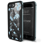 Чехол X-doria Defense Shield для Apple iPhone 7 plus (Blue Camo, маталлический)