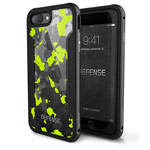 Чехол X-doria Defense Shield для Apple iPhone 7 plus (Yellow Camo, маталлический)